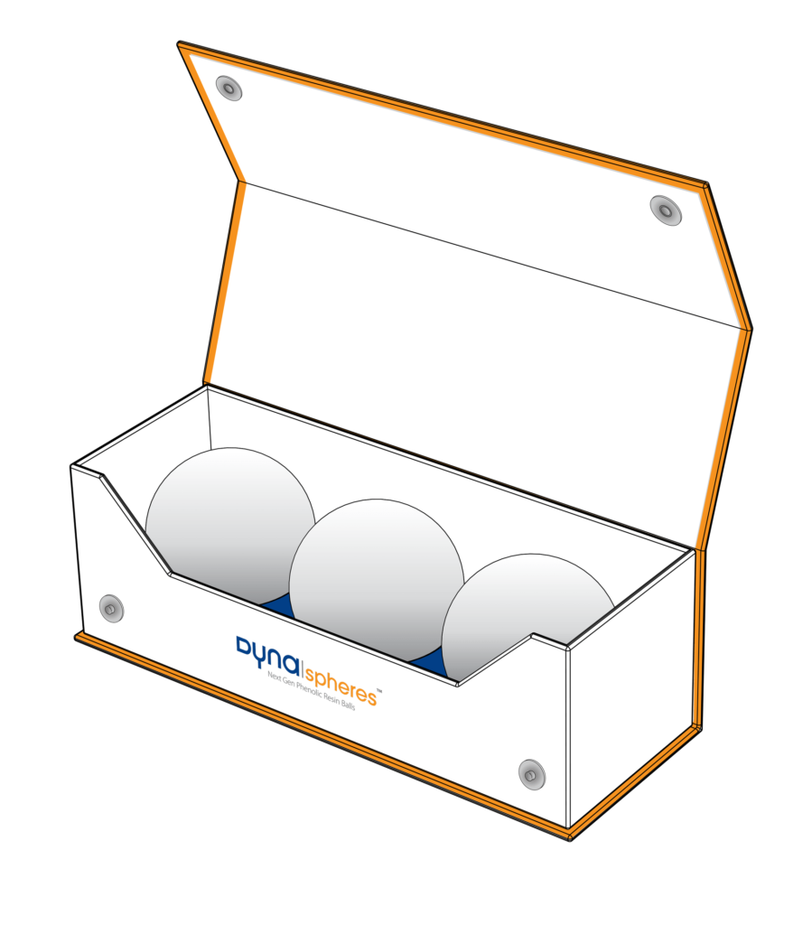 Dyna spheres™ - Next Gen Phenolic Resin Balls - Pool, Carom, Bumper Pool, Snooker